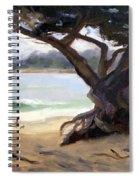 Sunday Afternoon Carmel Beach Spiral Notebook