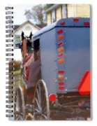 Sunday Courting Spiral Notebook