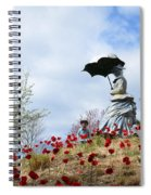 Sunday In The Park Spiral Notebook
