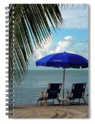 Sunday Morning At The Beach In Key West Spiral Notebook