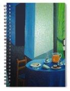 Sunday Morning Breakfast Spiral Notebook