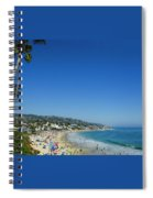 Sunday On Laguna Beach Spiral Notebook