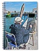 Sunday Painter Spiral Notebook