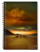 Sunday Storm Clouds Spiral Notebook