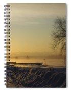Sundog On The Bay Spiral Notebook
