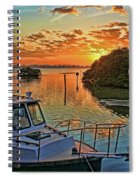 Sundown By H H Photography Of Florida Spiral Notebook