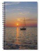 Sundown In The Tropics Spiral Notebook