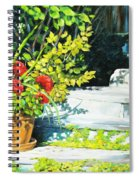 Sunfilled Steps 01 Spiral Notebook