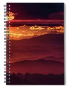 Sunflare Spiral Notebook