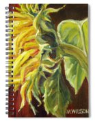Sunflower - Over Easy Spiral Notebook