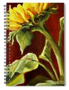 Sunflower - Sunny Side Up Spiral Notebook