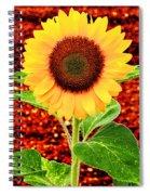 Sunflower 2 Spiral Notebook