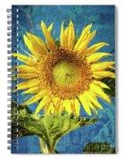 Sunflower Art Spiral Notebook