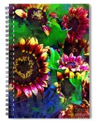 Sunflower Carnival Spiral Notebook