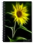Sunflower Display Spiral Notebook