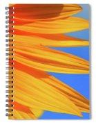 Sunflower Elegance Spiral Notebook