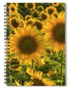 Sunflower Family Spiral Notebook