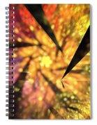 Sunflower Fan Spiral Notebook