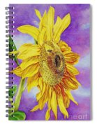 Sunflower Gold Spiral Notebook