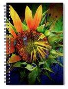 Sunflower Magic Spiral Notebook