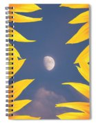 Sunflower Moon Spiral Notebook