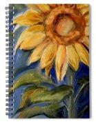 Sunflower Oil Painting Spiral Notebook