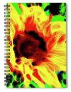 Sunflower Sunburst Spiral Notebook