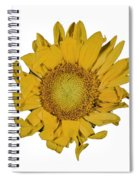 Sunflower T Spiral Notebook