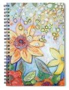 Sunflower Tropics Part 2 Spiral Notebook