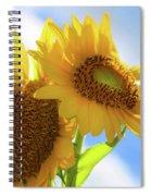 Sunflower Twins Spiral Notebook