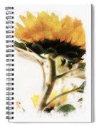 Sunflower Watercolor Spiral Notebook