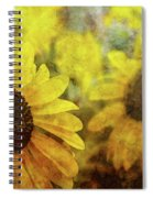 Sunflowers And Water Spots 2773 Idp_2 Spiral Notebook