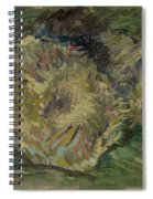Sunflowers Gone To Seed Paris, August - September 1887 Vincent Van Gogh 1853  1890 Spiral Notebook
