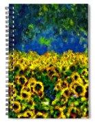 Sunflowers No2 Spiral Notebook