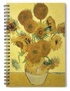 Sunflowers, 1888  Spiral Notebook