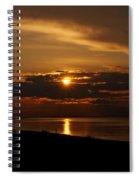 Sunken Sunset Spiral Notebook