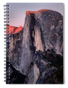 Sunkiss On Half Dome Spiral Notebook