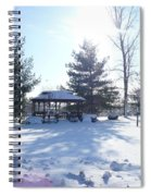 Sunlight In Winter Spiral Notebook