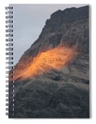 Sunlight Mountain Spiral Notebook