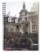 Sunlight On Moszna Spiral Notebook