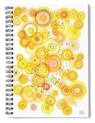 Sunlight Ripples Spiral Notebook
