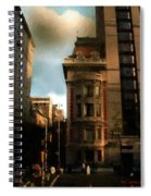 Sunlight Slant On Midtown Spiral Notebook