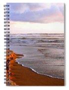 Sunlit Cannon Beach Spiral Notebook