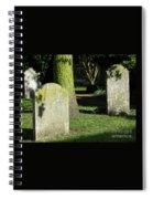 Sunlit Churchyard Spiral Notebook