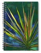 Sunlit Dracaena Marginata Spiral Notebook