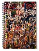 Sunlit Fall Corn Spiral Notebook