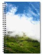 Sunlit Hillside Spiral Notebook