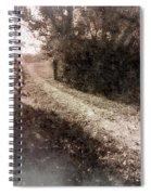 Sunlit Pathway Spiral Notebook