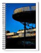 Sunlit Pier Spiral Notebook