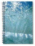 Sunlit Wave Spiral Notebook